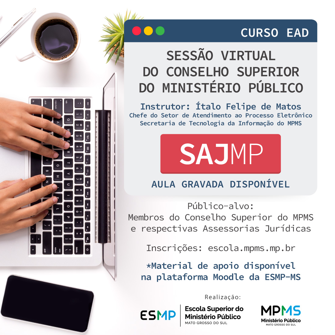 Sessão Virtual do CSMP