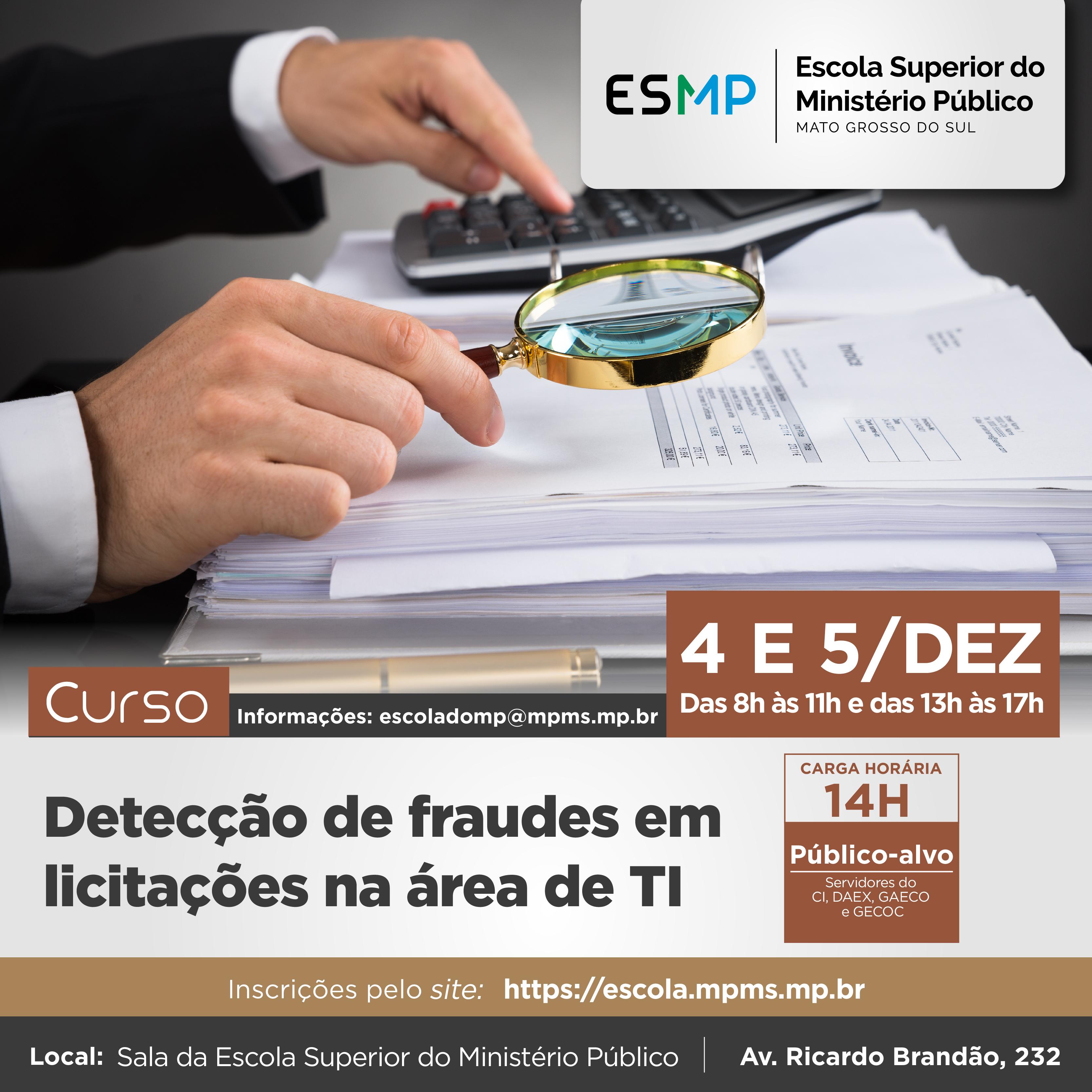 Detecção de fraudes em licitações na área de TI