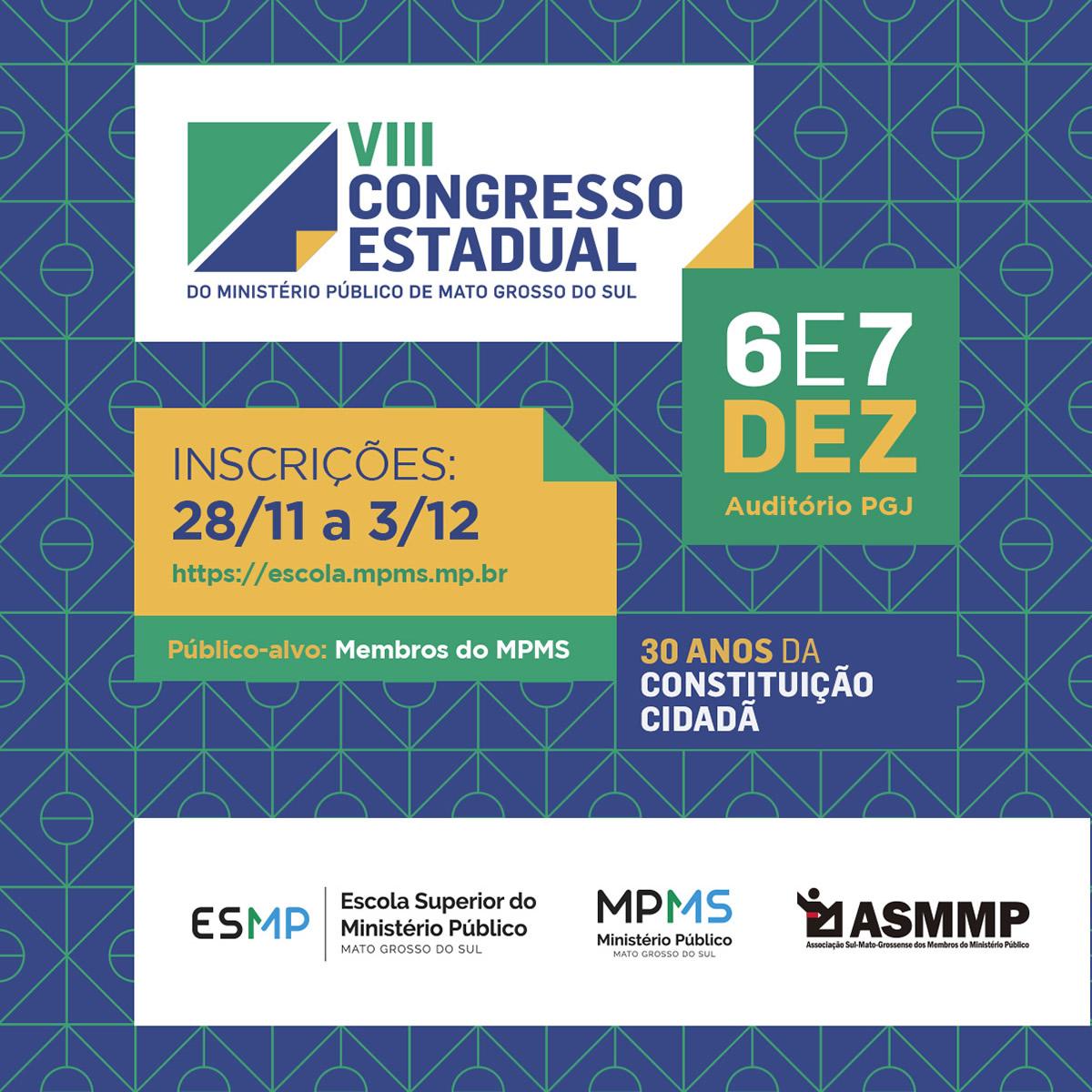 VIII Congresso Estadual