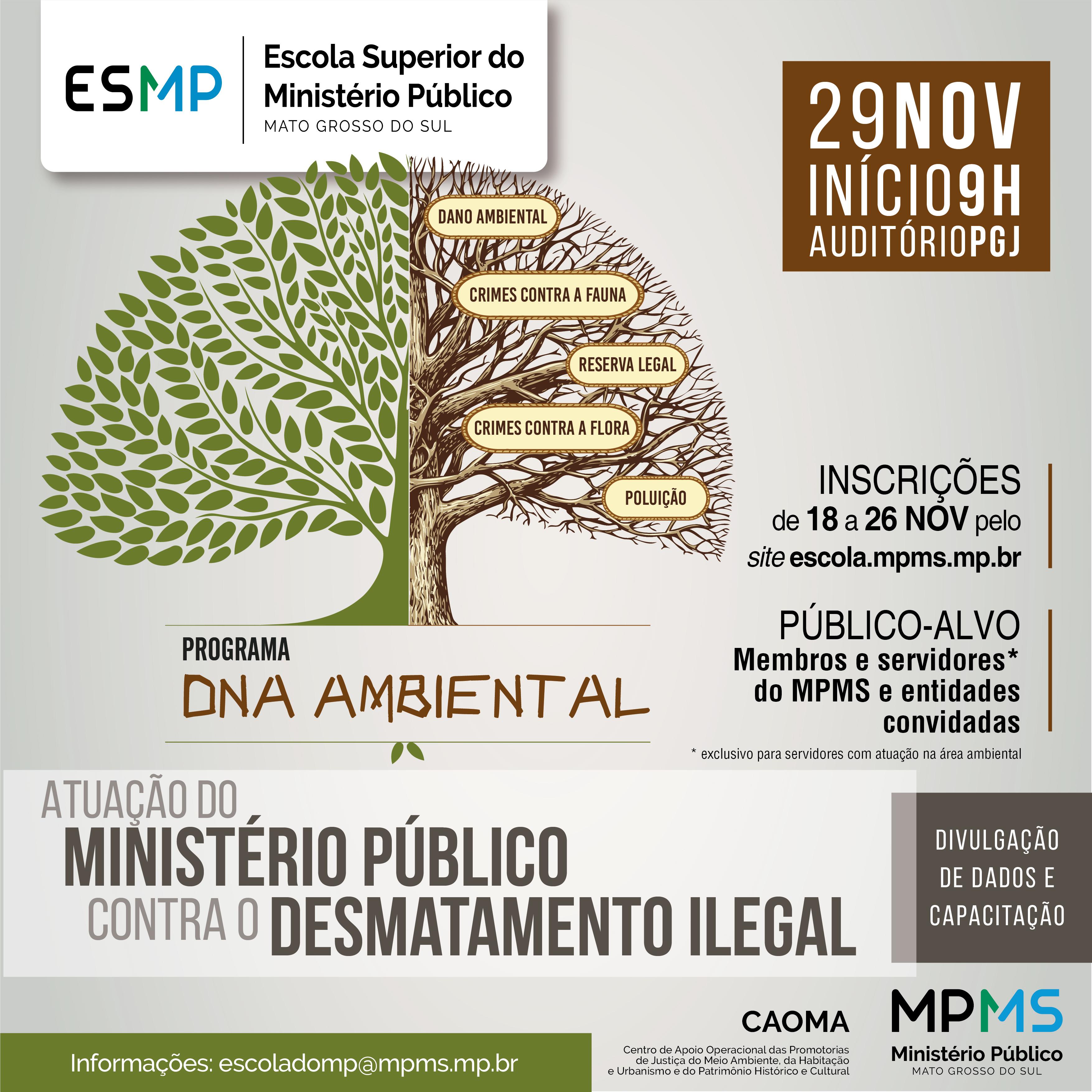 Atuação do Ministério Público contra o Desmatamento Ilegal
